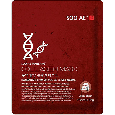 SOO AE Online Only Hanbang Collagen Sheet Mask