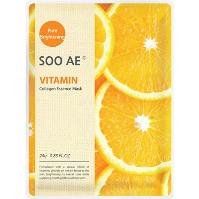 SOO AE Online Only Vitamin Collagen Essence Mask