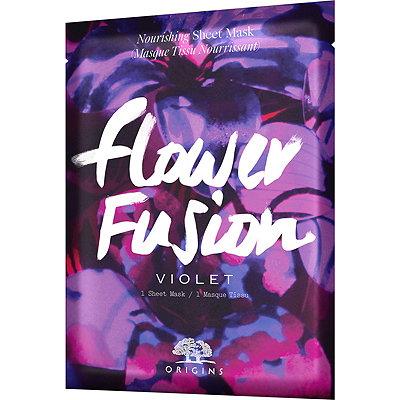 OriginsOnline Only Flower Fusion Violet Nourishing Sheet Mask