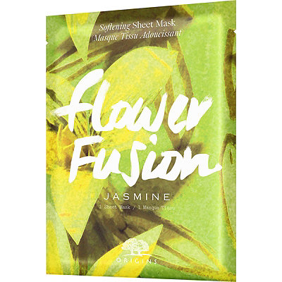 OriginsOnline Only Flower Fusion Jasmine Softening Sheet Mask