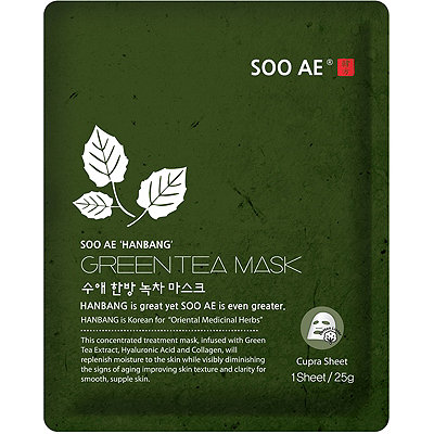 SOO AE Online Only Hanbang Green Tea Mask