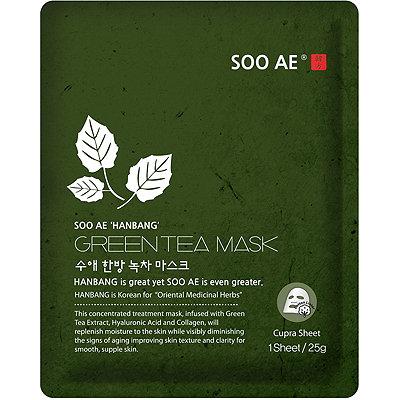 SOO AEOnline Only Hanbang Green Tea Mask