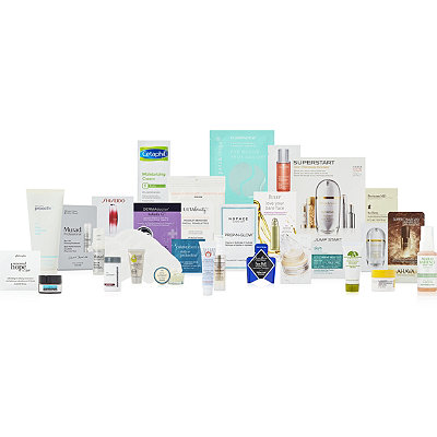 Variety FREE%21 27 pc%C2%A0skincare beauty bag%C2%A0with any%C2%A0%2470 skincare purchase%2C over a %24150 value%21