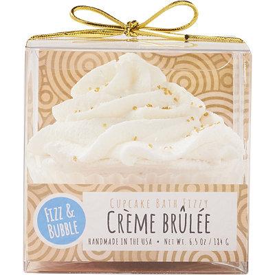 Crème Brûlée Bubble Bath Cupcake