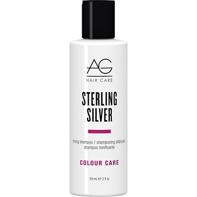 AG HairTravel Size Colour Care Sterling Silver Toning Shampoo