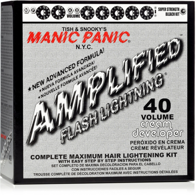 Manic Panic Flash Lighting 40 Volume Complete Maximum Hair