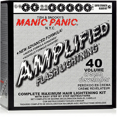 Manic Panic Flash Lighting 40 Volume Complete Maximum Hair Lightening Kit