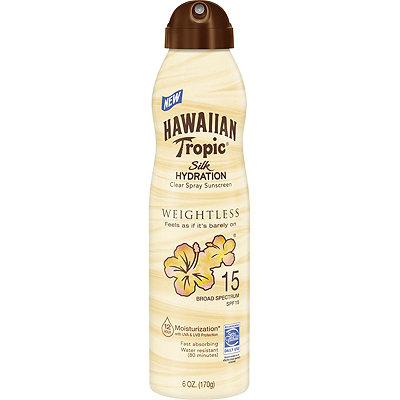 Hawaiian TropicSilk Hydration Weightless Spray SPF 15