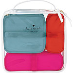 FREE 4 Pc Cosmetic Bag Set w%2Fany large spray Kate Spade New York purchase