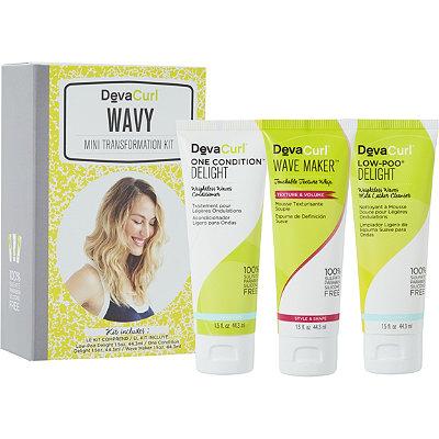 DevaCurlWavy Mini Transformation Kit - Delight