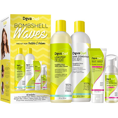 DevaCurl Bombshell Waves The Kit For Texture %26 Volume