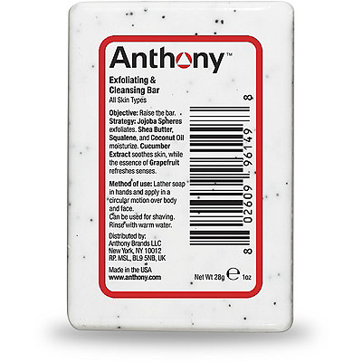 AnthonyFREE deluxe sample Glycolic Facial Cleanse and Cool Fix w/any Anthony for Men or Shaveworks purchase