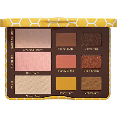 Too Faced Peanut Butter %26 Honey Eyeshadow Palette