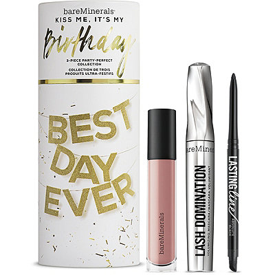 BareMineralsKiss Me%2C It%27s My Birthday 3 Pc Party-Perfect Collection