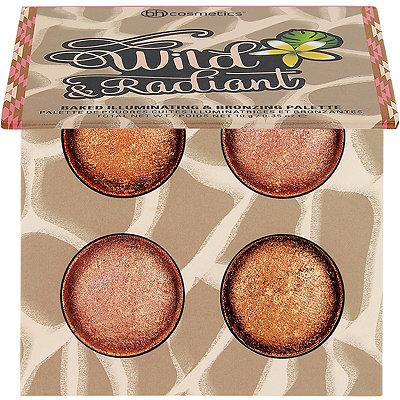 BH CosmeticsWild %26 Radiant Baked Bronzing Palette