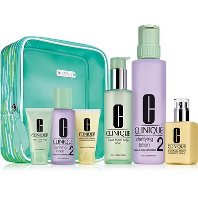 Clinique Great Skin Everywhere Set For Drier Skin %28Type I%2FII%29
