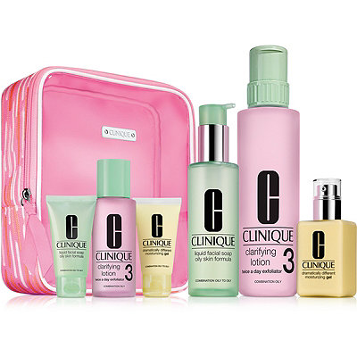 CliniqueGreat Skin Everywhere Set For Oilier Skin %28Type III%2FIV%29