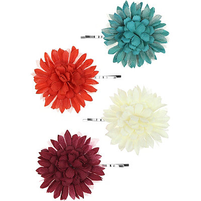 Capelli New YorkFloral Bobby Pins