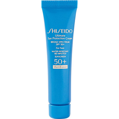 Shiseido FREE Ultimate Sun Protection Cream Wetforce SPF 50%2B w%2Fany %2455 Shiseido purchase