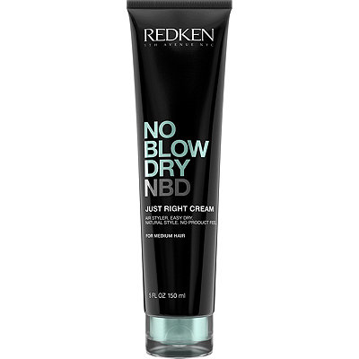 No Blow Dry Just Right Cream For Medium Hair