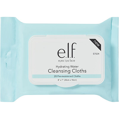 e.l.f. CosmeticsOnline Only Hydrating Water Cleansing Cloths