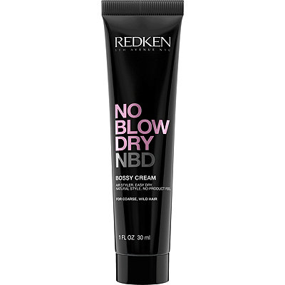 RedkenTravel Size No Blow Dry Bossy Cream For Coarse, Wild Hair