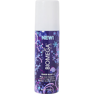 Biomega Travel Size Freeze Baby Mega-Hold Hairspray