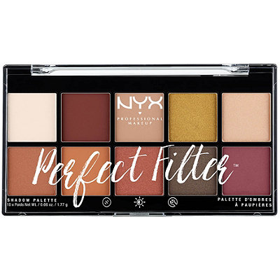 NYX Professional MakeupRustic Antique Perfect Filter Shadow Palette