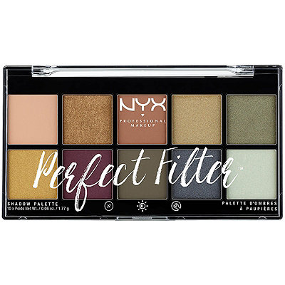 Nyx Cosmetics Olive You Perfect Filter Shadow Palette