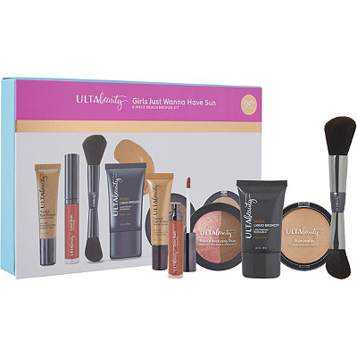 ULTA Girls Just Wanna Have Sun 6 Piece Beach Bronze Kit