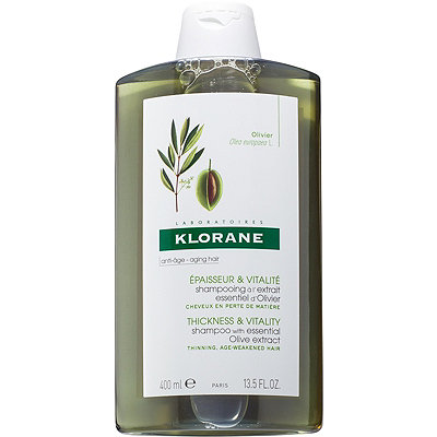 Klorane Thickness %26 Vitality Shampoo with Essential Olive Extract