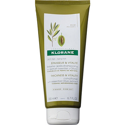 Klorane Thickness %26 Vitality Conditioner with Essential Olive Extract