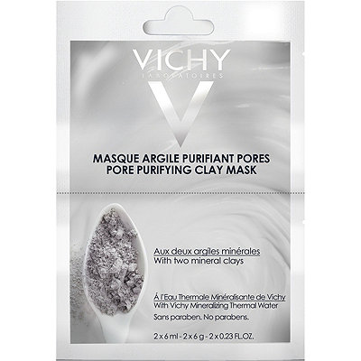 VichyOnline Only Pore Purifying Clay Mask Duo Sachet