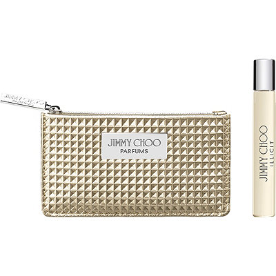 Jimmy ChooOnline Only FREE Illicit Purse Spray and Pouch w/any large spray purchase from the Jimmy Choo Illicit fragrance collection