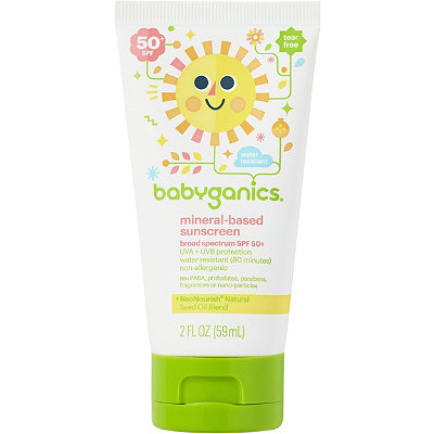 Babyganics Travel Size Sunscreen Lotion SPF 50