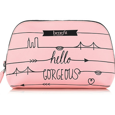 Benefit CosmeticsOnline Only FREE Dome Cosmetic Bag w%2Fany %2445 Benefit purchase