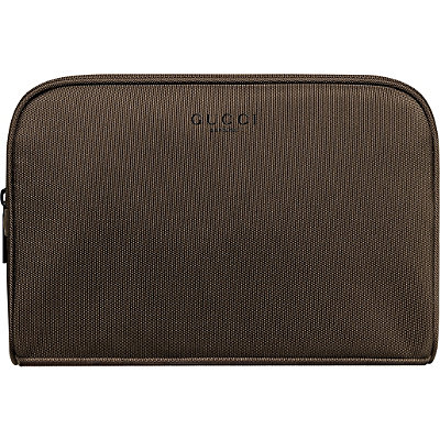 GucciFREE Brown Travel Pouch w/any large spray Gucci Guilty purchase