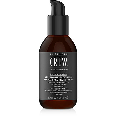 American CrewAll-In-One Face Balm Broad Spectrum SPF 15
