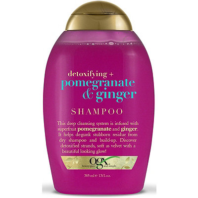 Detoxifying + Pomegranate & Ginger Shampoo