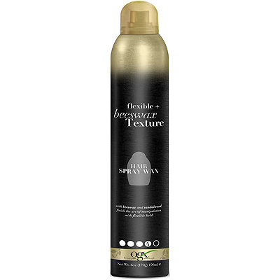 OGX Flexible %2B Beeswax Texture Hairspray Wax