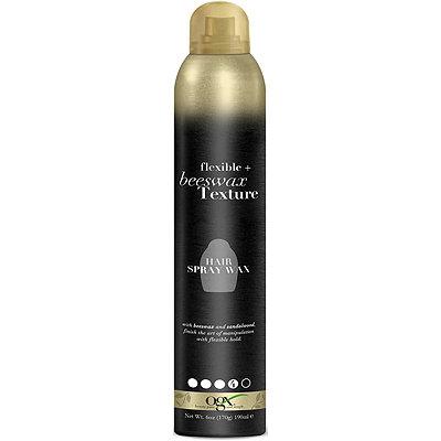 Flexible + Beeswax Texture Hairspray Wax