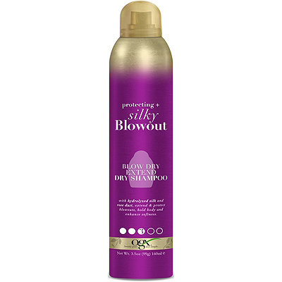 OGX Protecting %2B Silky Blowout Blow Dry Extend  Dry Shampoo