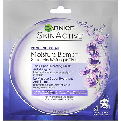 Garnier Online Only Skin Active Moisture Bomb Anti-Fatigue Sheet Mask