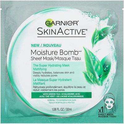 GarnierOnline Only SkinActive Moisture Bomb The Super Hydrating Sheet Mask Mattifying