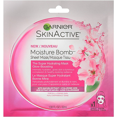 Online Only Skin Active Moisture Bomb Glow-Boosting Sheet Mask