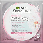 SkinActive Moisture Bomb The Super Hydrating Mask Soothing