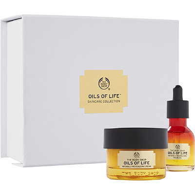 The Body Shop Online Only Oils of Life Skincare Collection