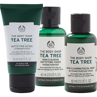 The Body Shop Online Only Tea Tree Travel Set