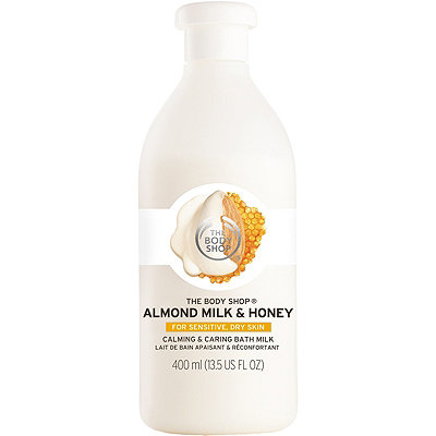 The Body Shop Online Only Almond Milk %26 Honey Calming %26 Caring Bath Milk