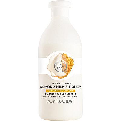 The Body ShopOnline Only Almond Milk & Honey Calming & Caring Bath Milk